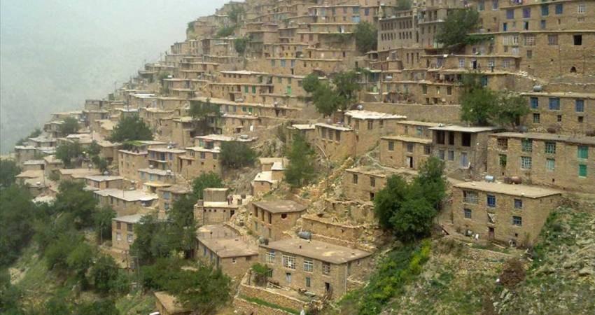 بافت معماری 10 روستای کردستان ثبت ملی شد