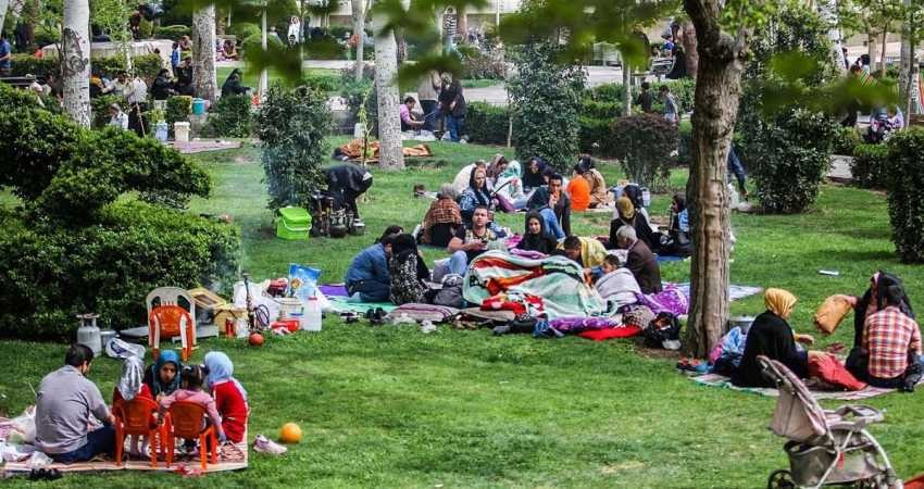 روز طبیعت به کاخ موزه های تهران نروید
