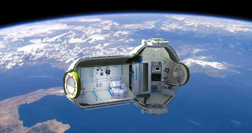 """هتل لوکس فضایی """"Aurora Station"""" در سال 2022 به فضا پرتاب می شود"""