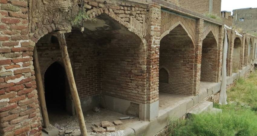 مرمت مدرسه 800 ساله حسن پادشاه تبریز آغاز شد