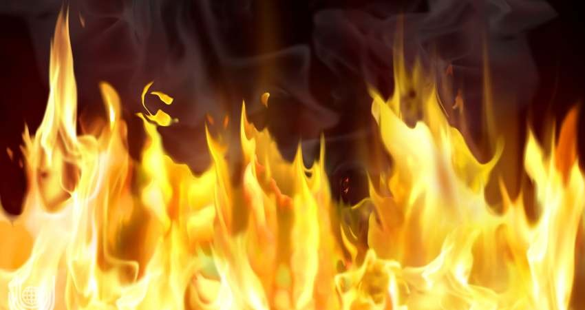 هتل ایرانی ها در نجف آتش گرفت