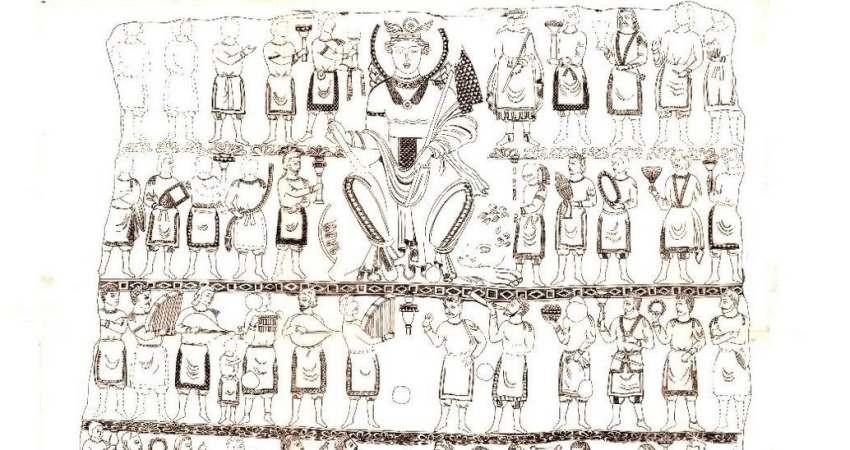 باستان شناسان ازبکستان تابلوی چوبی از دوره زرتشت کشف کردند
