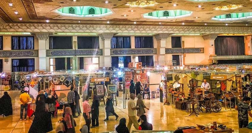 برپایی جشنواره و نمایشگاه صنایع دستی در شهرستان البرز