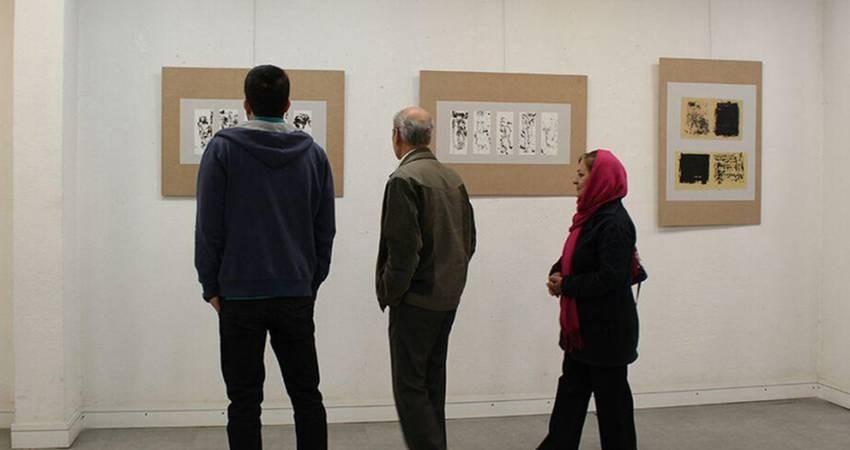 برگزاری نمایشگاه آثار نقاشی خط در گالری نقش خانه اصفهان