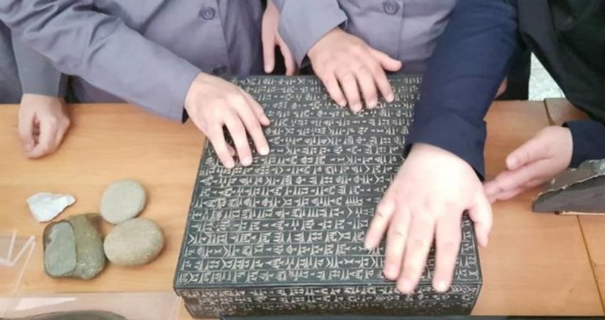 احداث فضای مخصوص نابینایان در موزه ایران باستان