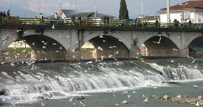 احتمال تخریب پل تاریخی چشمه کیله تنکابن