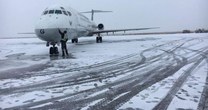 آمادگی فرودگاه مشهد برای ارائه خدمت در فصل سرما