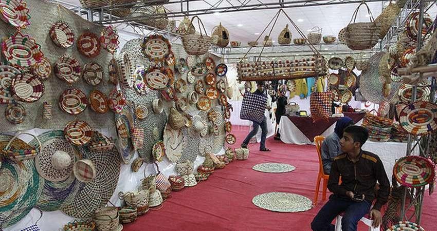 نمایشگاه صنایع دستی در شهرستان پردیس برگزار می شود