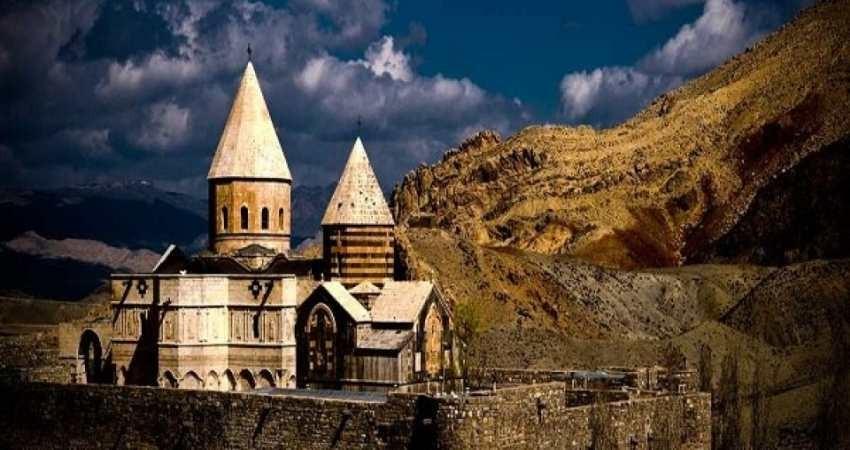 پیام تبریکی که برای سرزمین کلیساهای ایران فرستاده شد