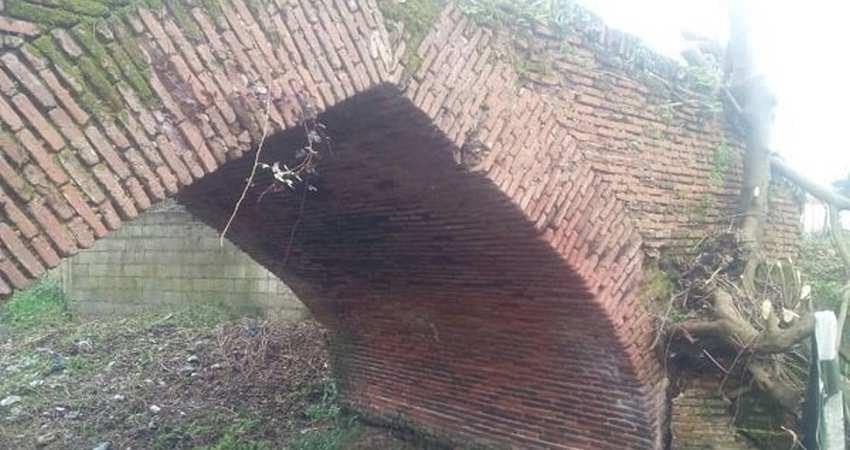 شناسایی یک پل خشتی دوره قاجار در فومن