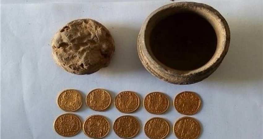 مصر گنجینه ای از سکه های دوران بیزانس را کشف کرد