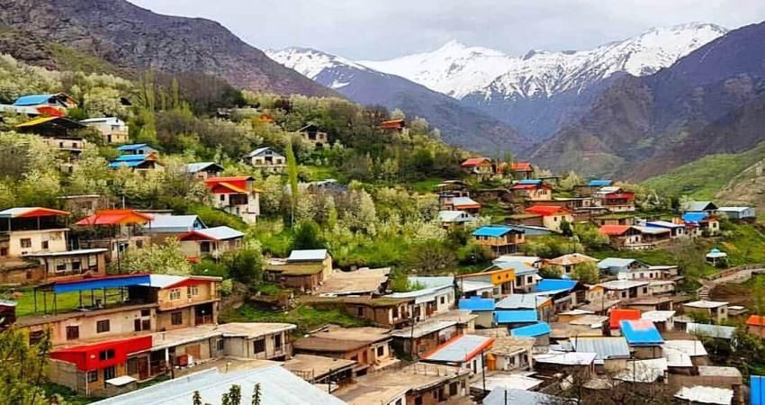 روستای آتان، ماسوله ای زیبا و فریبنده در قزوین