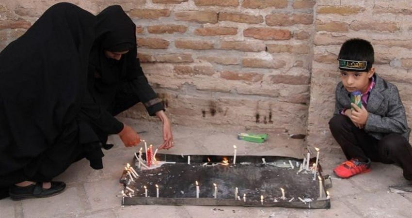 برگزاری مراسم هفت منبر در بیرجند