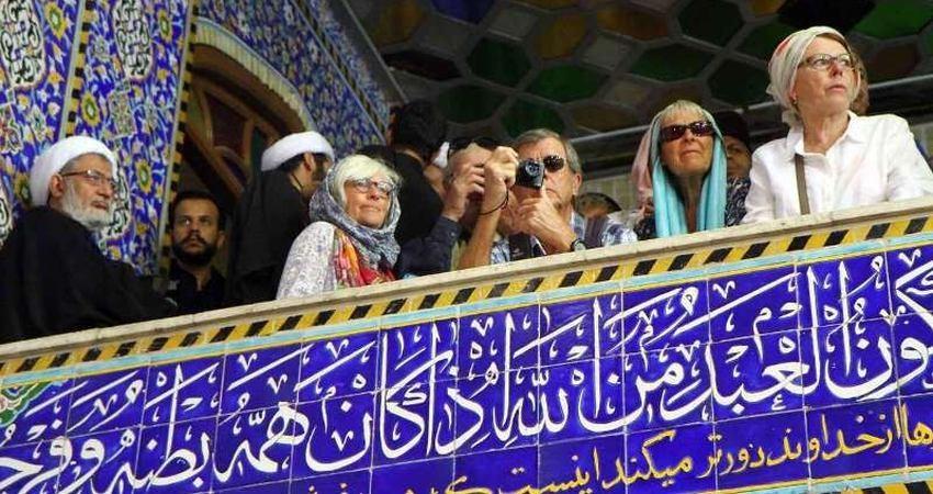 حضور ۲۰۰ گردشگر خارجی در آیین های عزاداری یزد