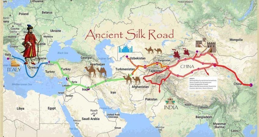 حمایت دولت چین از حفاظت سایت های باستان شناسی جاده ابریشم