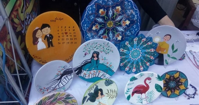 برپایی نمایشگاه صنایع دستی و مشاغل خانگی در چناران
