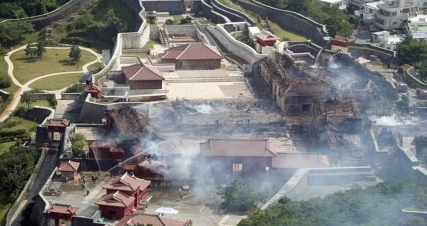 آتش میراث جهانی ۶۰۰ ساله ژاپن را نابود کرد
