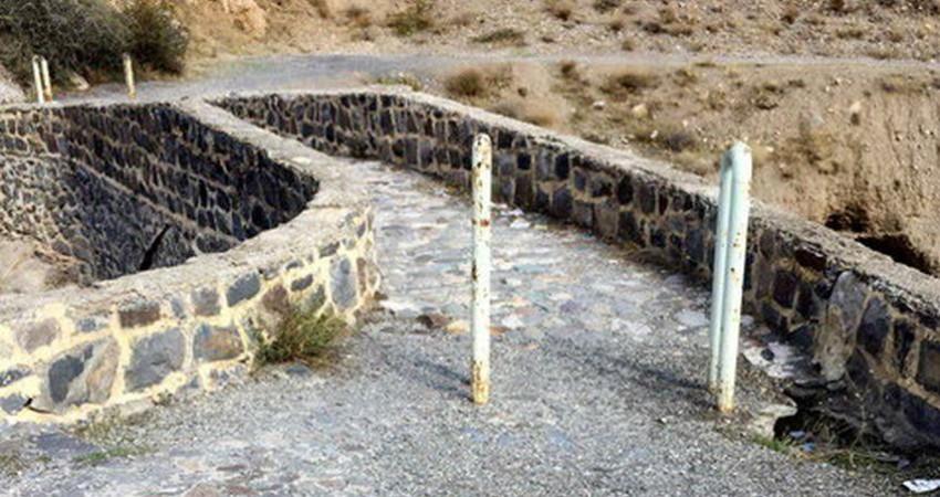 پل قاجاری منقل کباب پزی شده