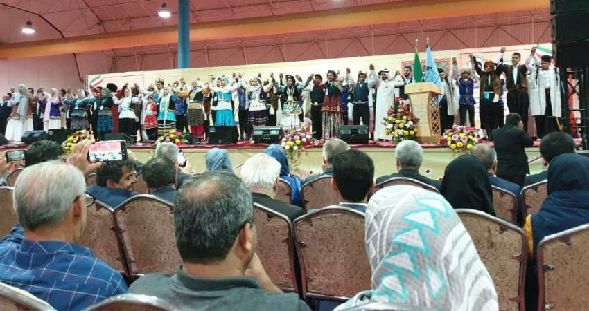 افتتاحیه سیزدهمین جشنواره بین المللی اقوام