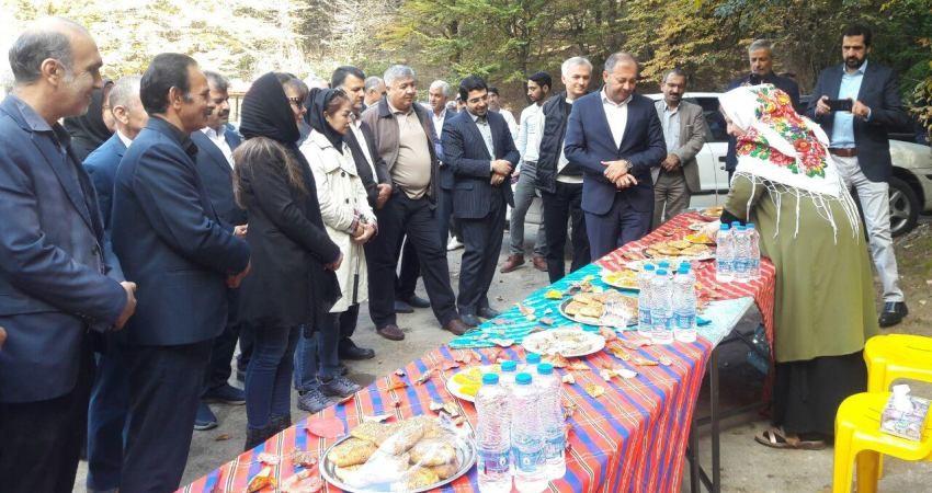 بازدید سفرا و مهمانان خارجی از جاذبه های گردشگری استان گلستان