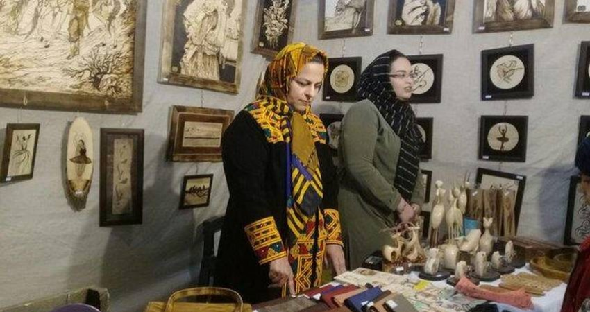 رونق هنر سوخت نگاری در خراسان جنوبی