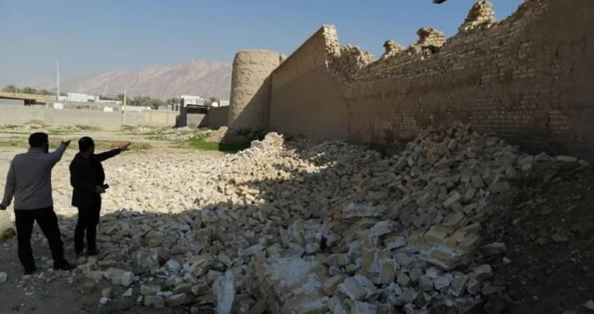 زلزله بوشهر، قلعه کلات را مجروح کرد