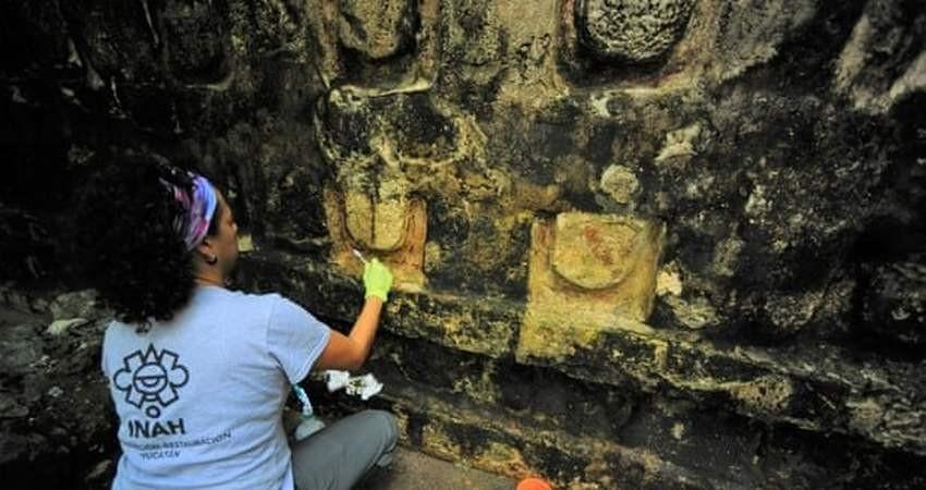کشف بقایای کاخ باستانی «مایاها»
