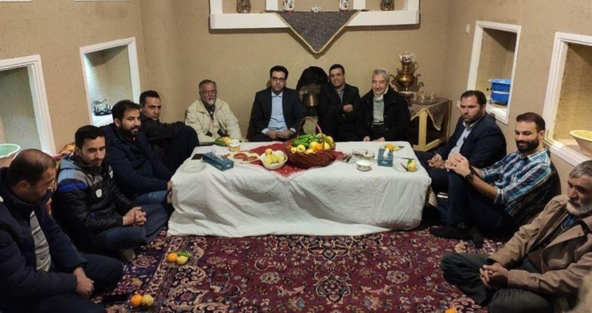 برگزاری نشست هماهنگی آیین سنتی «جل جلانی» در روستای طامه نظنز