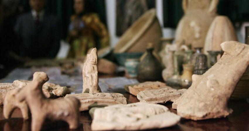 کرونا به کام قاچاقچیان آثار باستانی