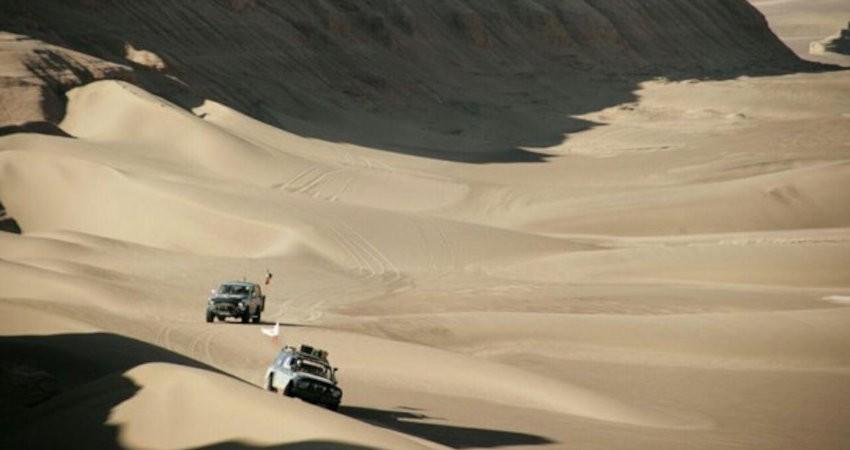 کویر بهاباد میزبان موتورسواران علاقمند به مسیریابی گردشگری