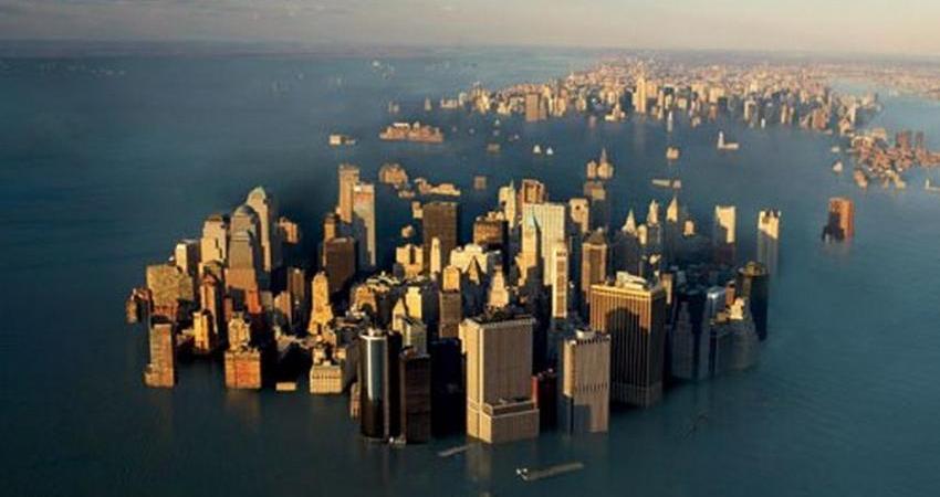 تاثیر گرمایش جهانی در غرق شدن شهرهای ساحلی