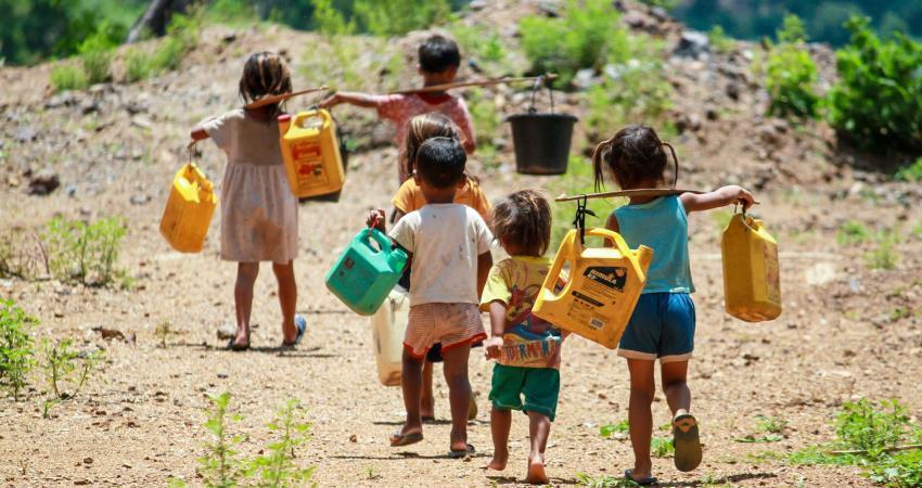 تغییرات اقلیمی بیش از همه از کودکان قربانی می گیرد
