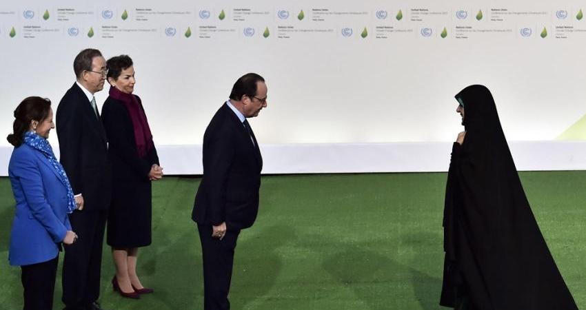 دیدارها و رایزنی های ابتکار در حاشیه اجلاس جهانی تغییرات آب و هوا در پاریس