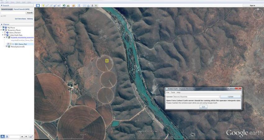 برای رصد تغییر اقلیم، نقشه های گوگل به یاری فائو می آیند