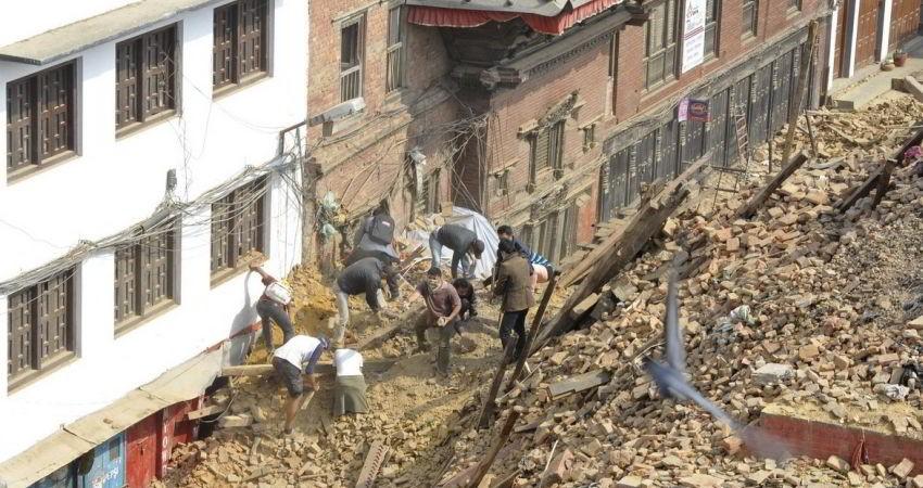 نابودی نیمی از میراث جهانی نپال در زلزله مرگبار