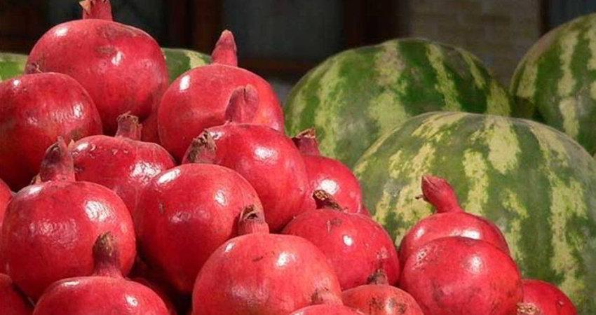 انار، هندوانه و آجیل شب یلدا چند قیمت خورده اند؟