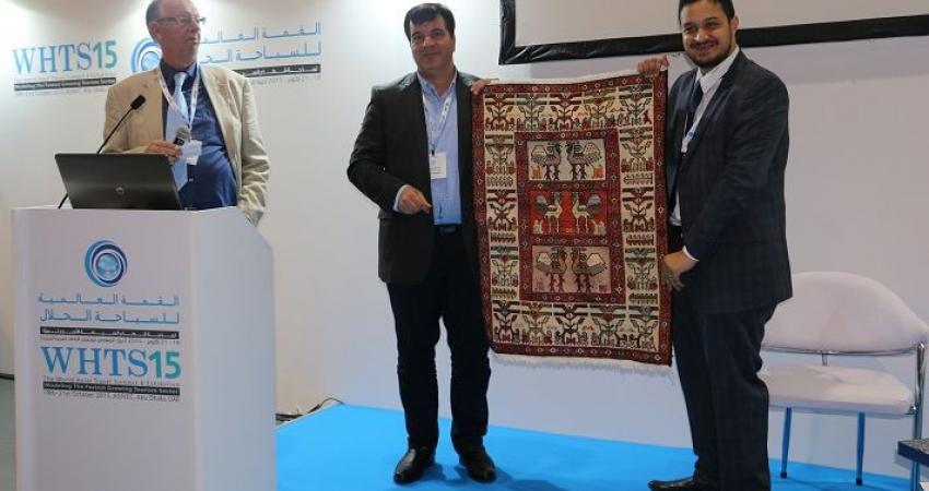 رونمایی از اعتبارنامه ثبت جهانی تبریز در نمایشگاه ابوظبی