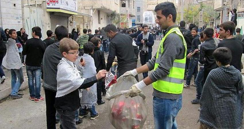 قدردانی از فعالیت های محیط زیستی سوگواران حسینی