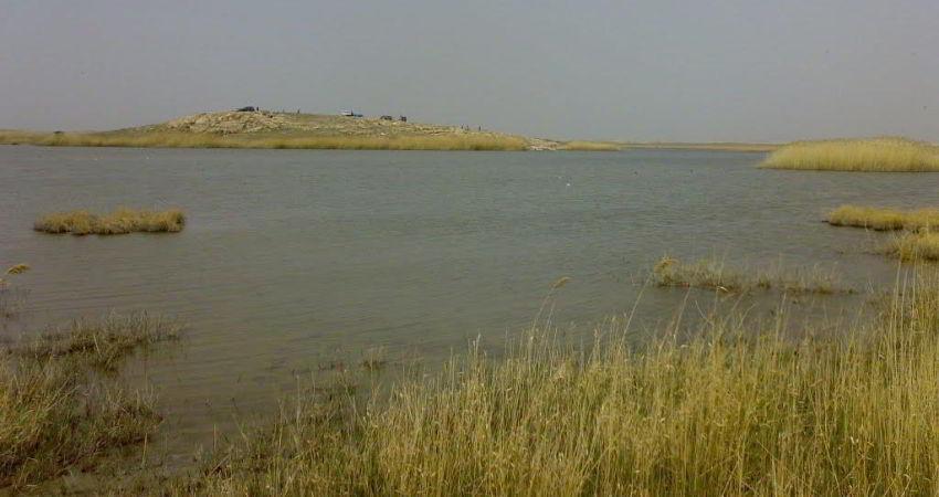 احیای چشمه قره داغ در شهرستان مهاباد