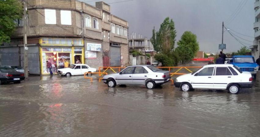 هشدار سازمان هواشناسی برای آبگرفتگی و سیل