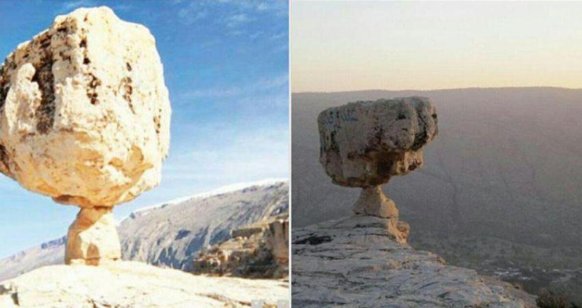 تخریب چهره، سیلی بر گونه آثار طبیعی