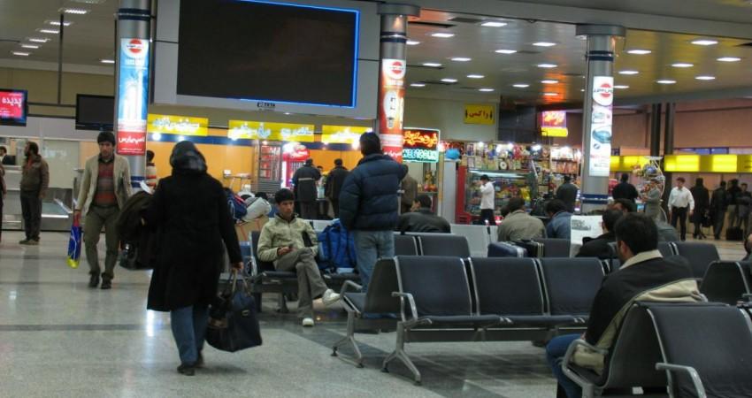 شلوغ ترین روز و ساعت فرودگاه های ایران