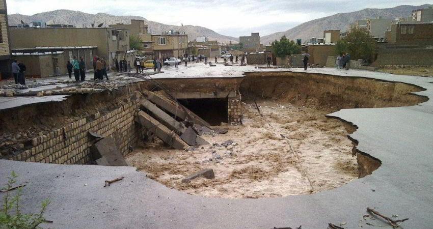 خسارت 45 میلیارد ریالی سیل به آثار تاریخی و تاسیسات گردشگری ایلام