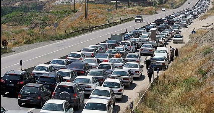 کاهش تردد در محورهای برون شهری