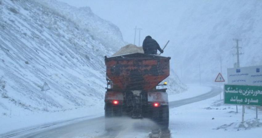 دستور وزیر برای تجهیز جاده ها و بنادر در بحران سرما