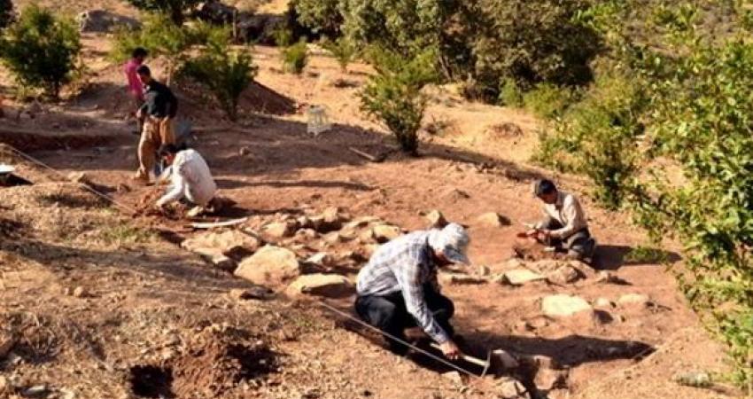 شناسایی یک محوطه تاریخی مربوط به دوره آهن و تاریخی در کردستان