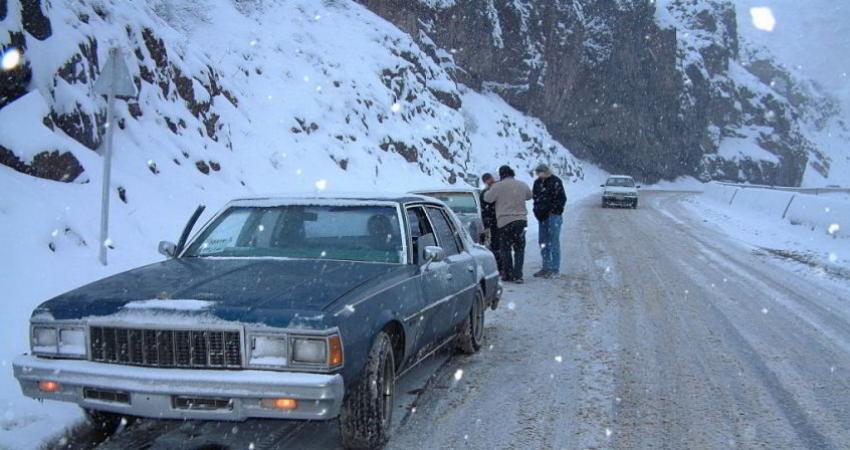 بارش برف و باران در 25 استان / کاهش دید در آذربایجان شرقی