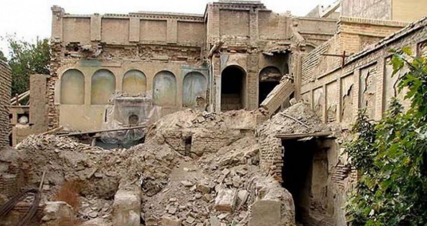 """بنای تاریخی """"نصیرالدوله"""" نفیس نیست!"""