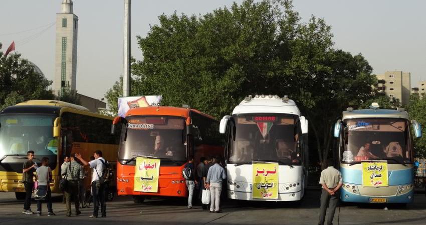 حذف دفترچه ثبت ساعات رانندگان اتوبوس بین شهری