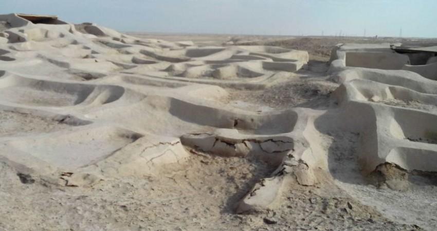 باستان شناسان ایرانی و چینی در شهر سوخته